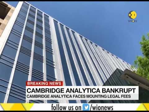 Breaking News: Cambridge Analytica declares bankruptcy