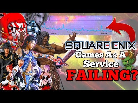 "Square Enix turning Final Fantasy into ""GAMES AS A SERVICE"" - Is it failing?"