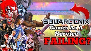"""Square Enix turning Final Fantasy into """"GAMES AS A SERVICE"""" - Is it failing?"""