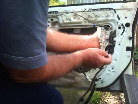 Toyota Corolla 1996 Door Actuator Replacement Youtube
