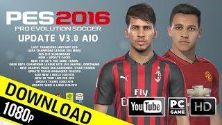 PES 2016 | Next Season Patch 2019 Update v3.0 AIO (PC/HD)