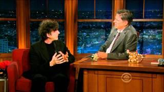 Neil Gaiman On The Late Late Show 2011-10-31