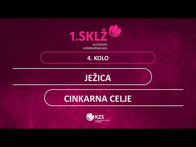 Ježica : Cinkarna Celje - 4. kolo - 1. Ž SKL - Sezona 2020/21 - 3/4