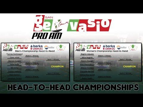 2017 San Gervasio Pro-AM: Head to Head Championships