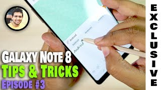 Samsung Galaxy Note 8 | Mind-blowing Tips & Tricks You Didn't Know Existed! (Part-3/3)