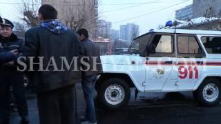Խոշոր ավտովթար Երևանում   «Նոր Զովք» սուպերմարկետի մոտ բախվել են Mercedes ն ու Ford Tranzit ը