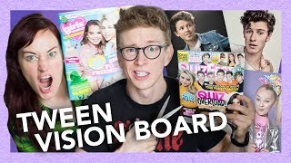 Making Vision Boards (w/ only tween mags) ft Mamrie Hart