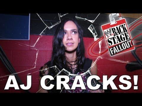 AJ Cracks! - Backstage Fallout - September 13, 2013