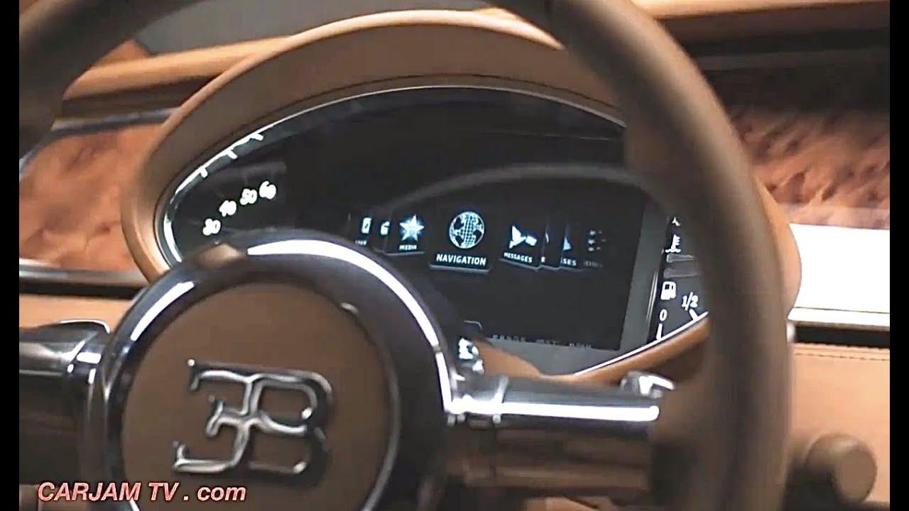 2016 bugatti royale interior 5 door fastback bugatti veyron bugatti sedan commercial carjam tv hd - Bugatti 2016 Gold