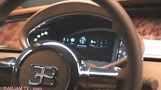2016 Bugatti Royale INTERIOR 5-door Fastback Bugatti Veyron? Bugatti Sedan Commercial CARJAM TV HD