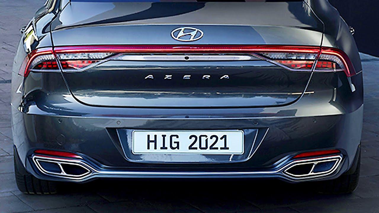 2021 Hyundai Azera Speed Test