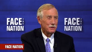 Sen. King says tax reform vote might be the most important vote of his career