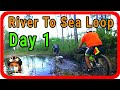 Mountain Bike Touring Adventure: Bikepacking w/ Trailer on Florida's River To Sea Loop - DAY 1