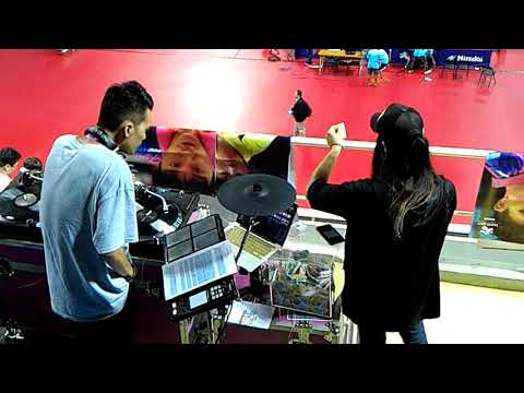 20170829 世大運桌球(Taipei Summer Universiade-table tennis) DJ J.C.& DJ H.(抽選手海報) in新莊gym 15