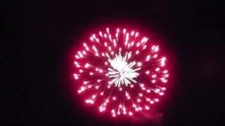 Starburst Fireworks Finale Leominster, MA 2014