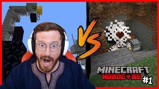HARDCORE'DA KÜLLERİMDEN YENİDEN DOĞUYORUM AMA TERSTEN! (Minecraft)