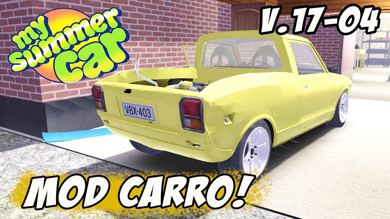 MOD PICK UP - MY SUMMER CAR - V 17 04