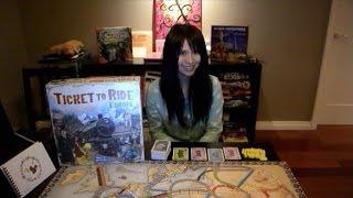 Ticket To Ride: Europe 鐵道任務 桌遊教學+心得