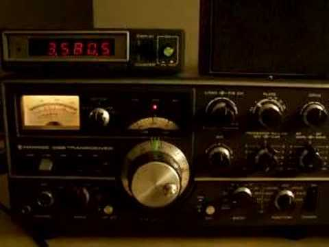 W1AW ARRL Morse Code Practice for Radio Amateurs on TS-520S