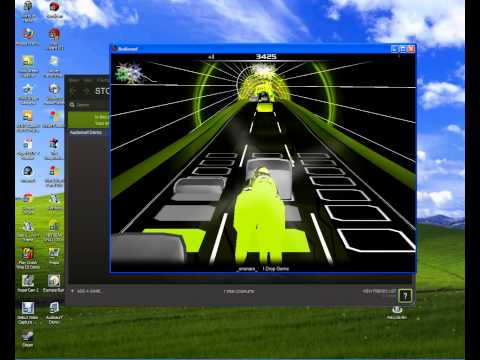 AudioSurf Demo Gameplay(look in description)