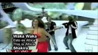 Plagio Shakira y Waka Waka