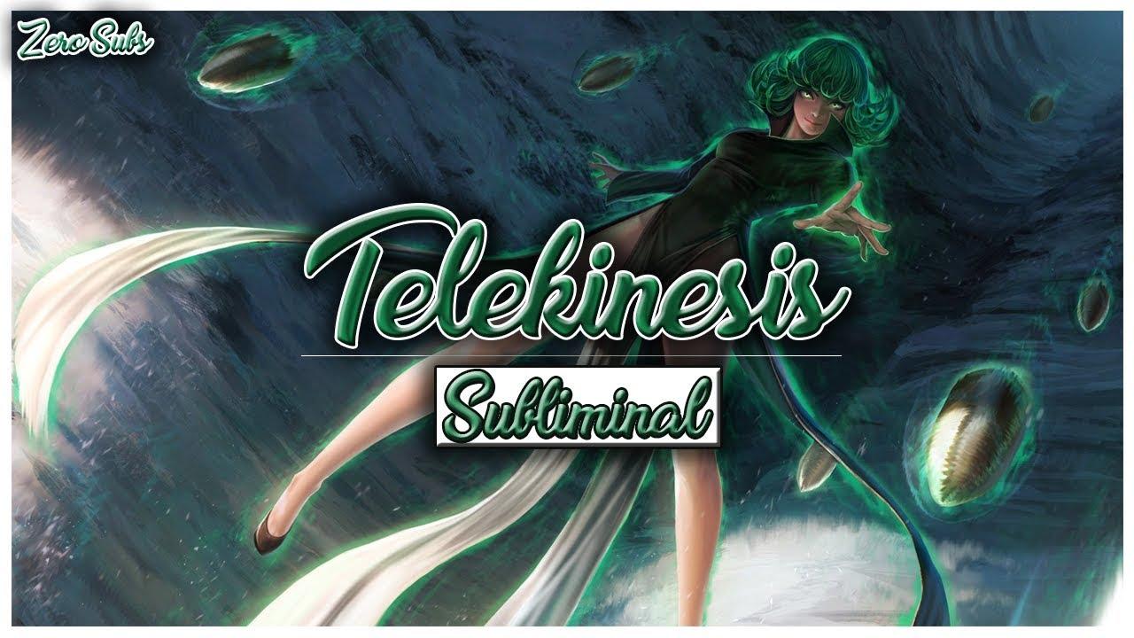 Telekinesis - Subliminal Affirmations *Extremely Powerful*