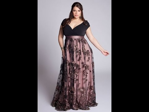 57f88a58d Vestidos de fiesta para gorditas - YouTube