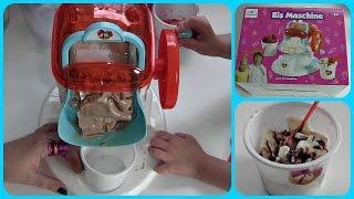 EisMaschine von Topolino - wir machen Eis! Lecker Schokoeis ♥ Review & Vorführung