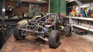 Custom RC Nitro Solid Axle Trophy Truck Overview