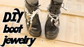12 Days Of Diy: Boot Jewelry Inspired By Saint Laurent
