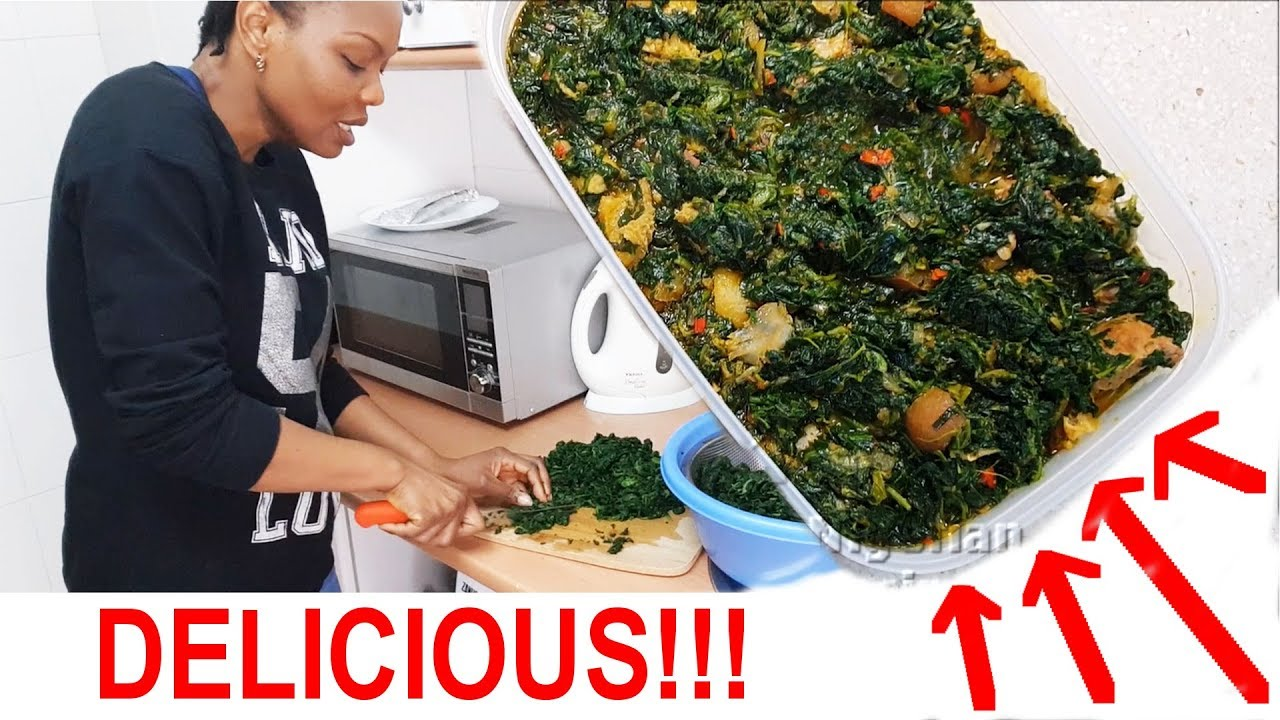 Cook with me: Delicious Vegetable Soup  Flo Chinyere