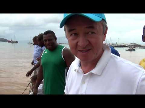 """Экспедиция """"Туран ТВ"""" на Кабо-Верде.(эпизод 1, Знакомство с островом, Стейк по """"Кабо-Вердински"""")"""