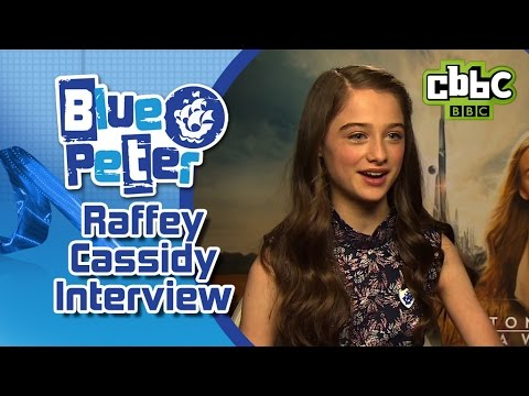 Tomorrowland star Raffey Cassidy answers your questions on Blue Peter!