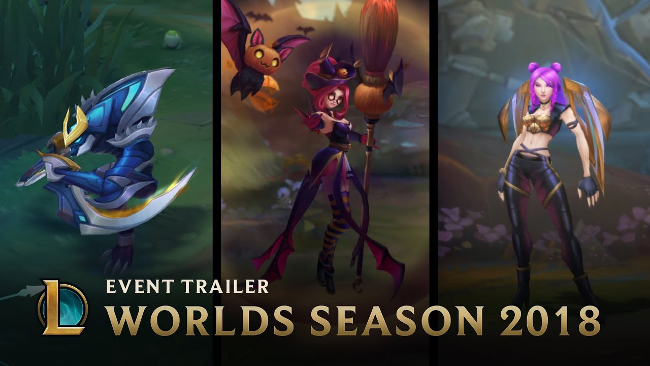 Learn More Worlds Season 2018 Event League Of Legends Lol