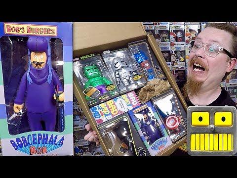A Funko Tenacious Toys Haul Bob&39;s Burgers Kid Robot Figures And A Mystery Surprise Box