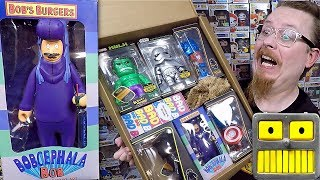 Baixar A Funko Tenacious Toys Haul Bob's Burgers Kid Robot Figures And A Mystery Surprise Box
