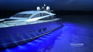 OceanLED TV - 'How to light a Motor Yacht' - worlds best colour change underwater lights for boats