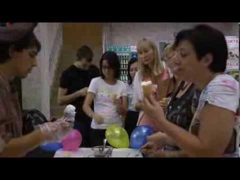 Смотреть Бизнес Центр Нагатинский. Мастер класс по изготовлению мороженного. онлайн