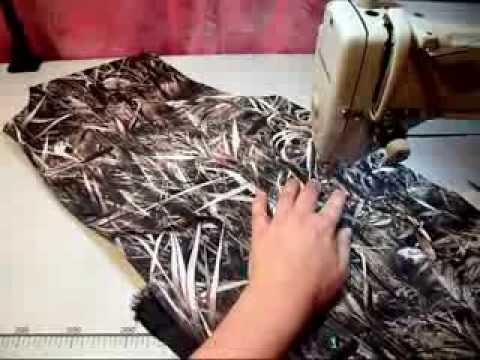 Сшить карман с листочкой на куртке без подклады (2)