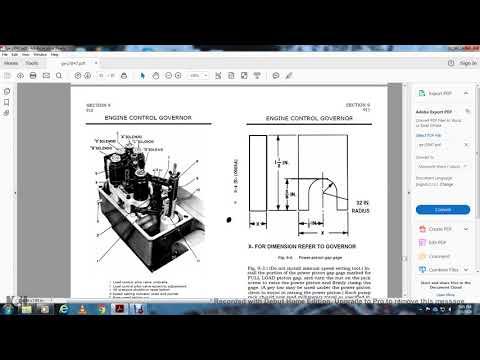 DIESEL ENIGNE MECHANICAL SERVICE MANUAL DIESEL ELECTRIC LOCOMOTIVE GE PART4
