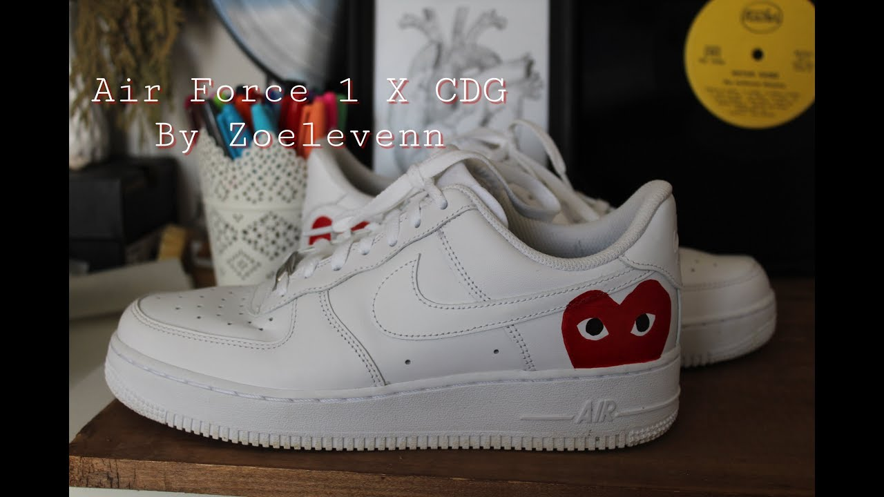 uk availability new concept sale online JE CUSTOMISE MES AIR FORCE 1