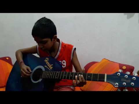 Vivaha bhojanambu song on guitar