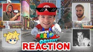 Top 5 REACTION auf Super Mario Odyssey Trailer von Nintendo YouTuber
