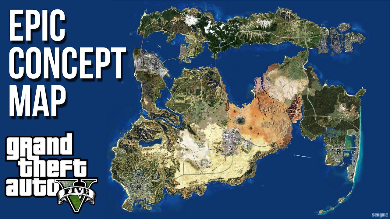 Amazing gta concept map featuring every past gta map vice city amazing gta concept map featuring every past gta map vice city las venturas liberty city more youtube gumiabroncs Images