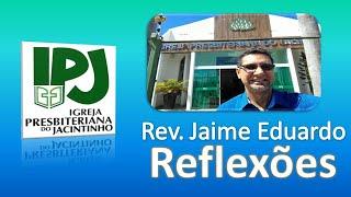 Venha a mim e beba - João 7.37,38 - Rev. Jaime Eduardo