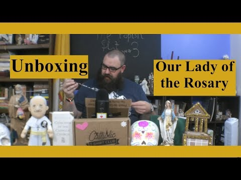 Catholic T-Shirt Club Unboxing: Our Lady of the Rosary
