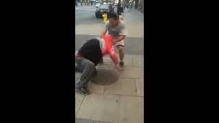 Ottawa Crackhead Catches a Beating for Assaulting a Native Man!