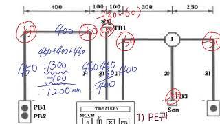 017. 전기기능사실기 도면3 전선관 공사 (대략적 전…