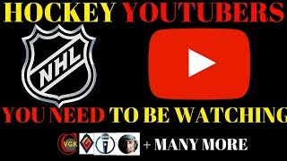 YouTube Guide - Great Hockey YouTube Channels