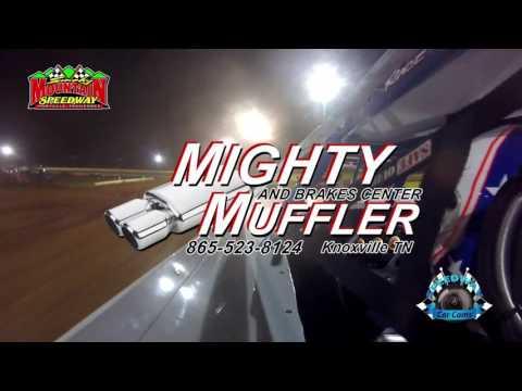 #2 Rex Coffey - Sportsman - 5-13-17 Smoky Mountain Speedway - In-Car Camera